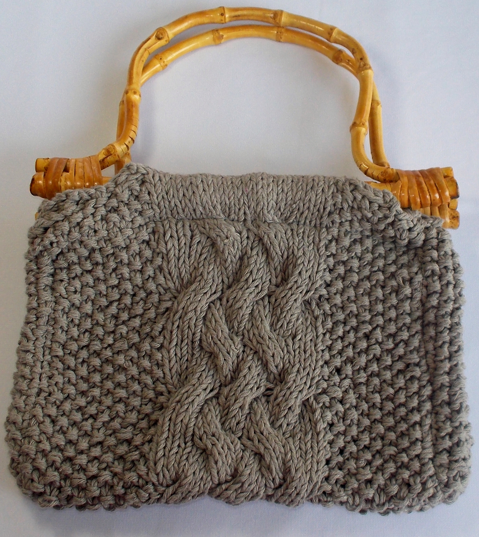 24c4e90fe9d Πλεκτή τσάντα με καλοκαιρινό νήμα | Χειροποίητες δημιουργίες στη ...